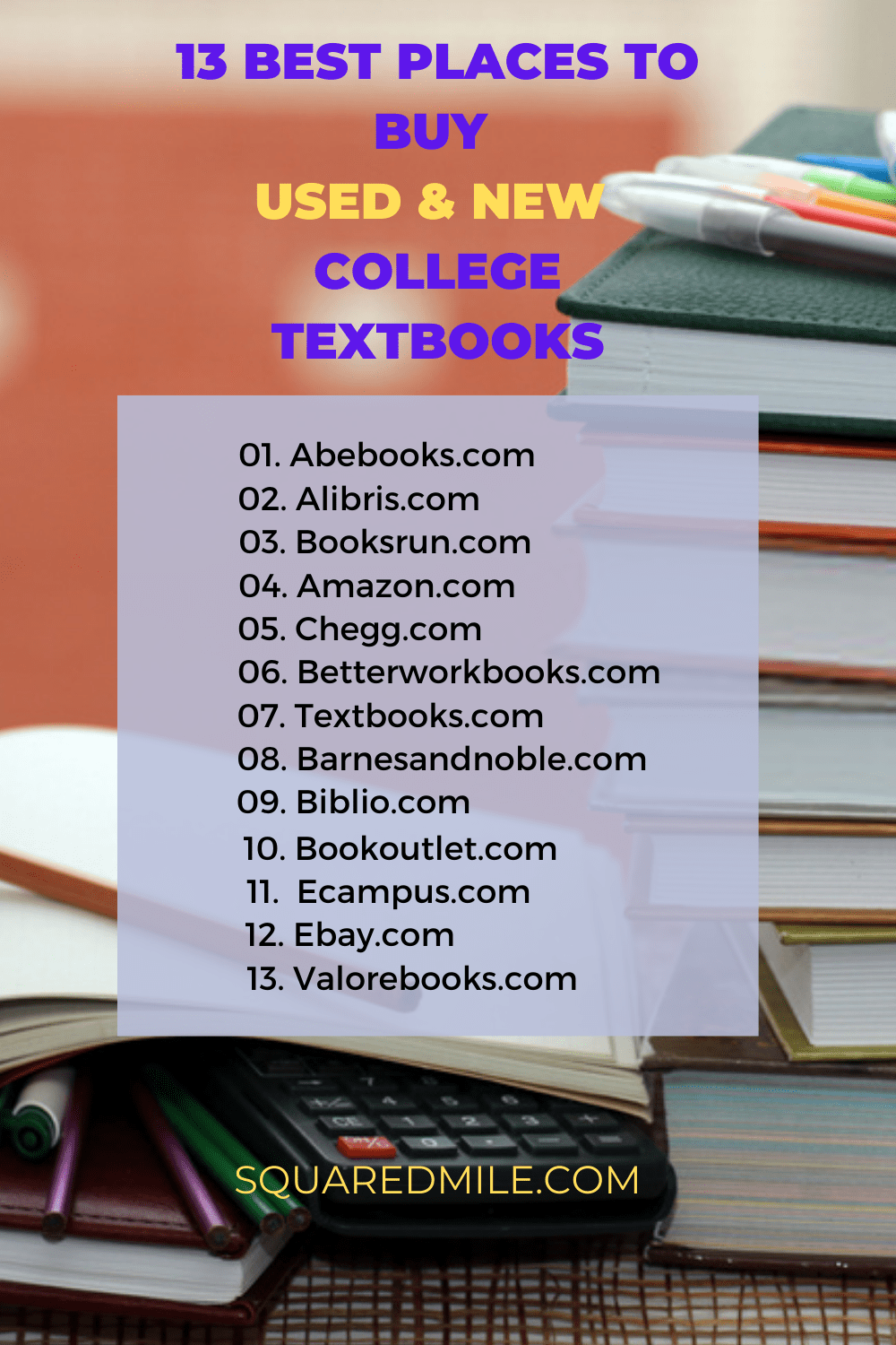 where to buy college textbooks online