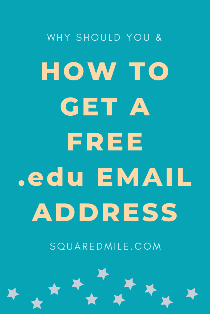 how to get a free edu email address
