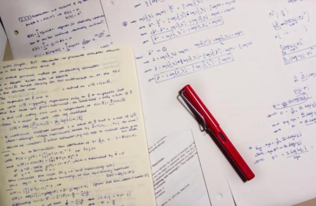 backup handwritten lecture notes