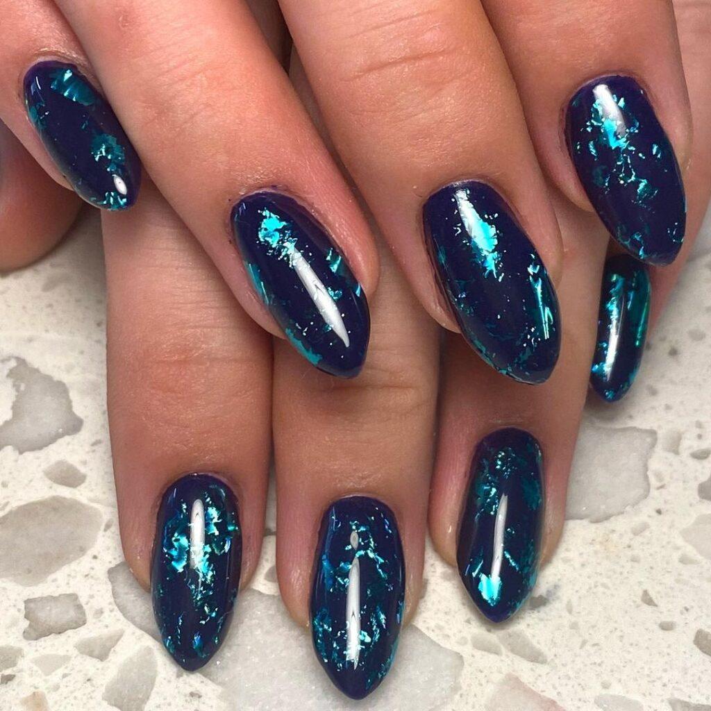 natural deep water looking nails