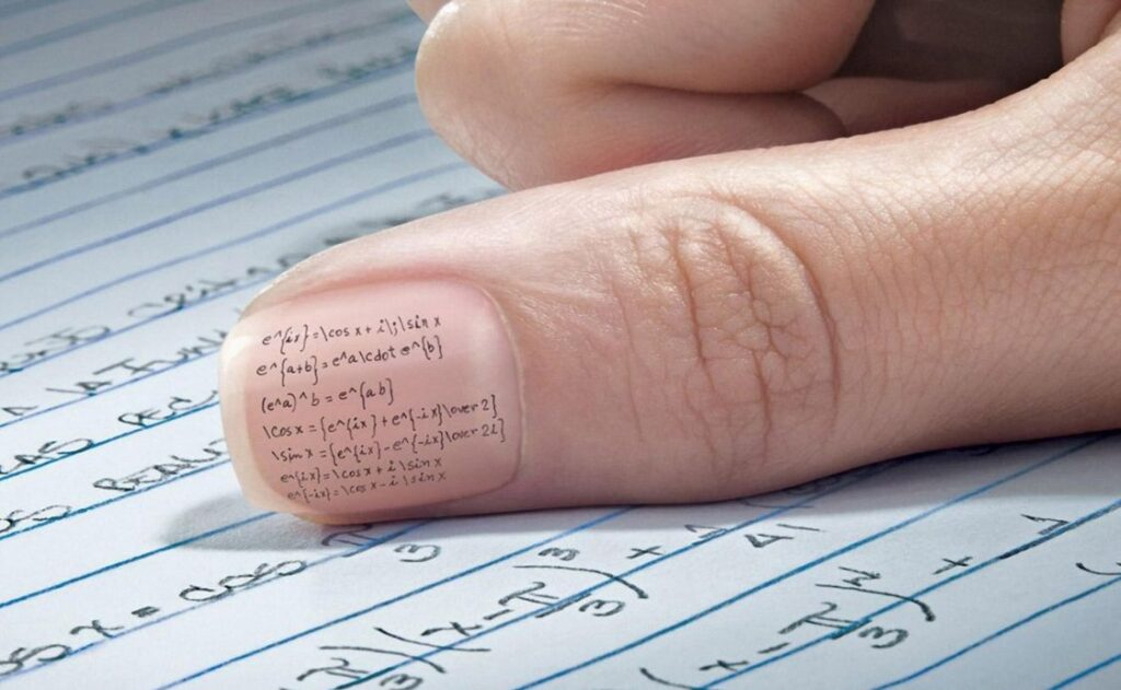 math formulas in the nails